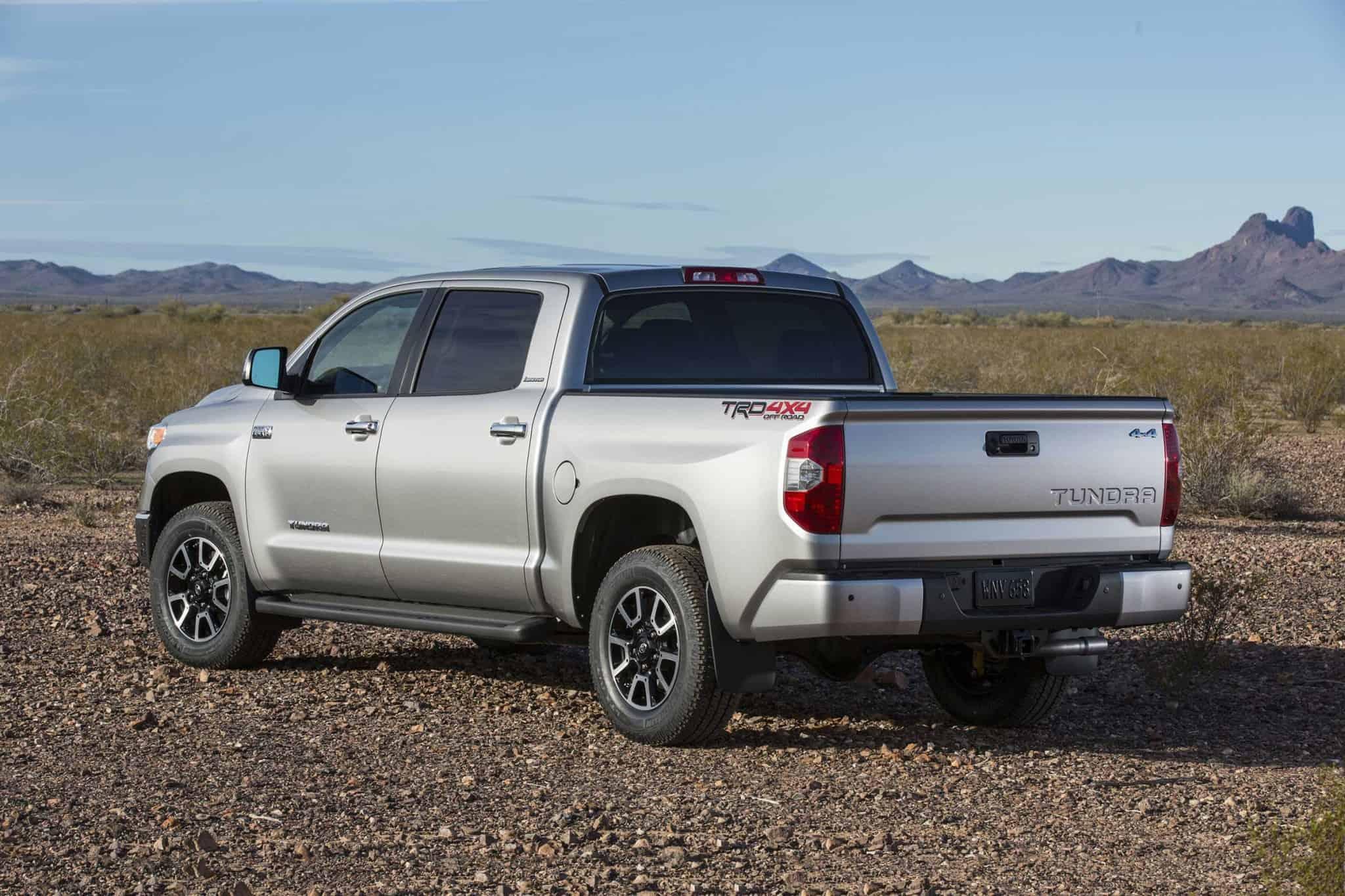 2017 Toyota Tundra - left rear view