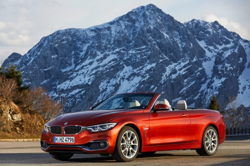 2018 BMW 4 Series - left front view