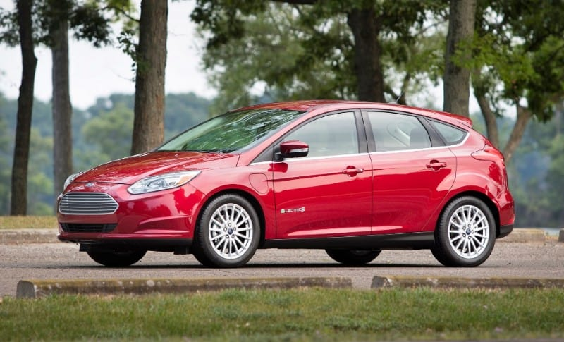 2018 Ford Focus Electric - left side view