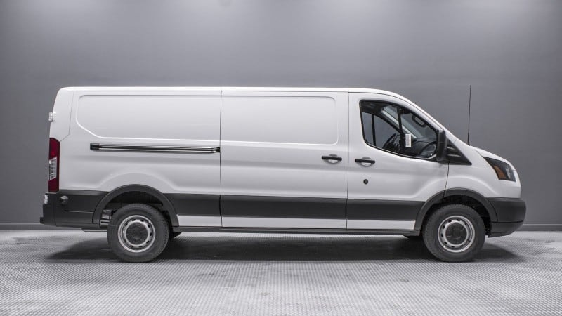 2018 Ford Transit - right side view