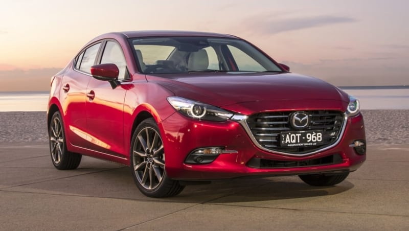 2018 Mazda 3 - right front view