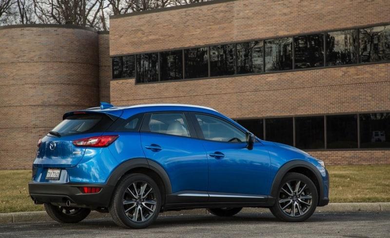 2018 Mazda CX-3 - right side view