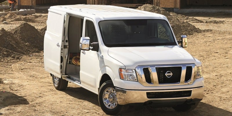 2018 Nissan NV - right side view