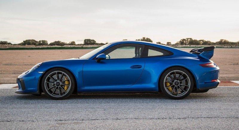 2018 Porsche GT3 - drivers side view