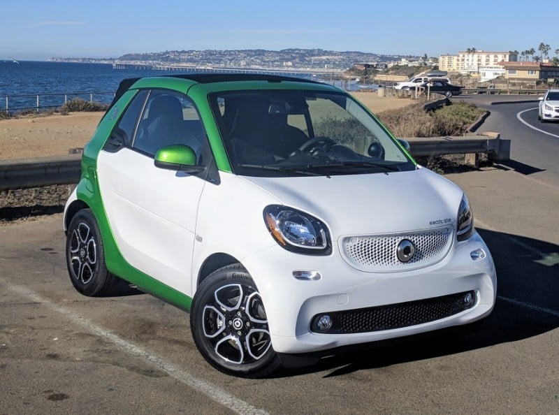 2018 Smart Fortwo Electric Drive - right front view