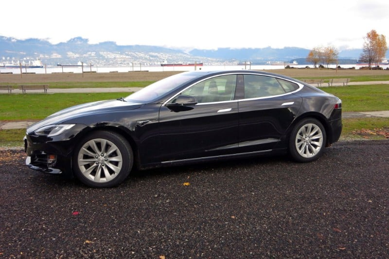2018 Tesla Model S 100D - drivers side view