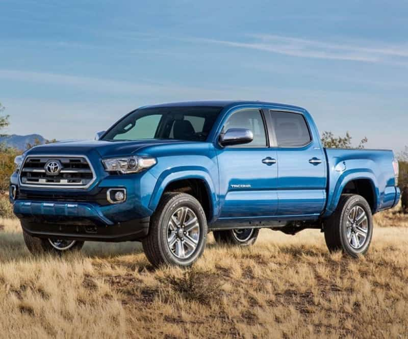 2018 Toyota Tacoma - left side view