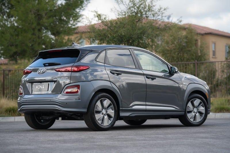 2019 Hyundai Kona EV - passenger side view