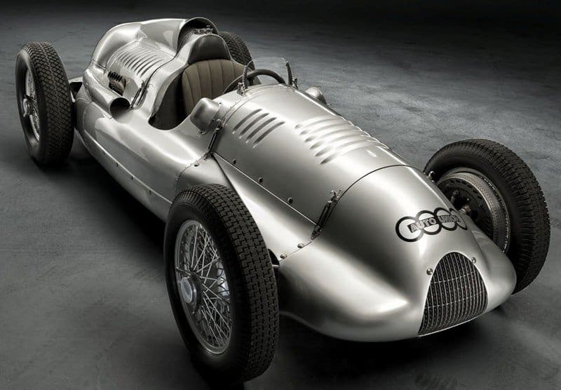 Auto Union Type D Silver Arrow - right side view