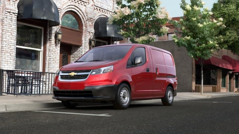 2018 Chevrolet City Express - driver side view