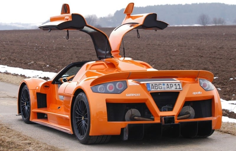 Gumpert Apollo Top Car - rear view