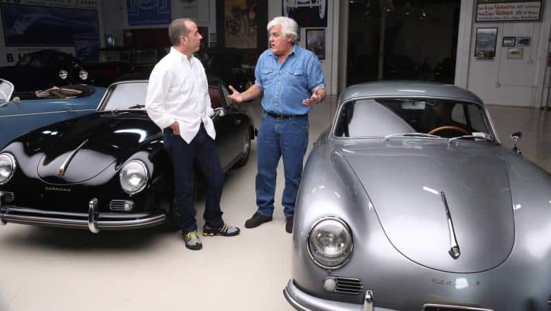 Jay Leno Helped the Jerry Seinfeld Car Collection