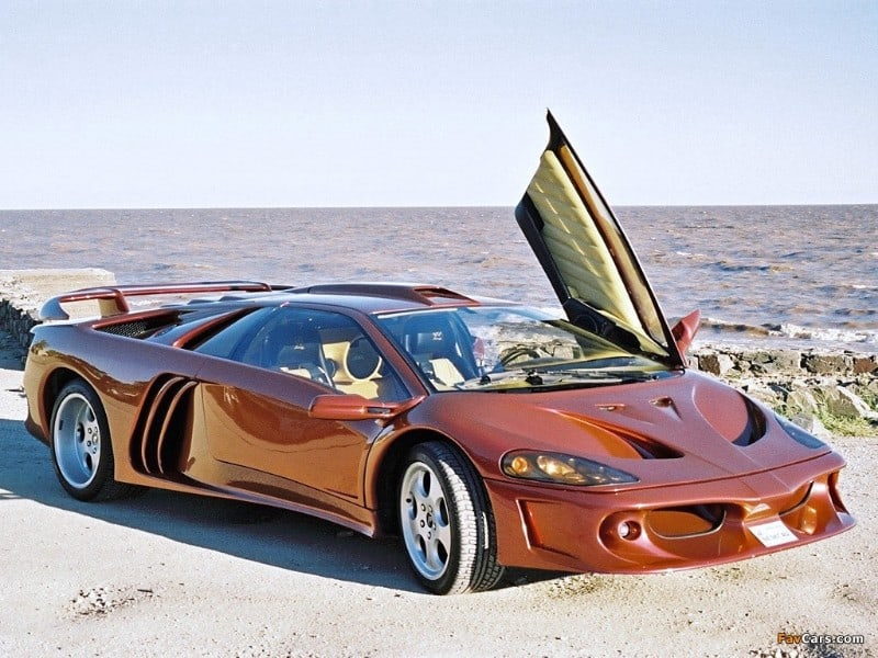 Lamborghini Diablo Coatl - right front view