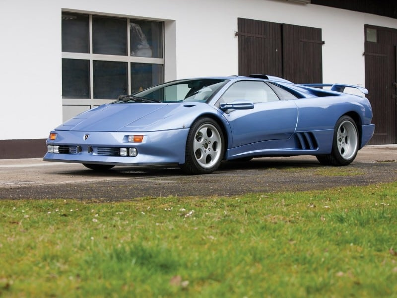Lamborghini Diablo SE30 Jota - left side view