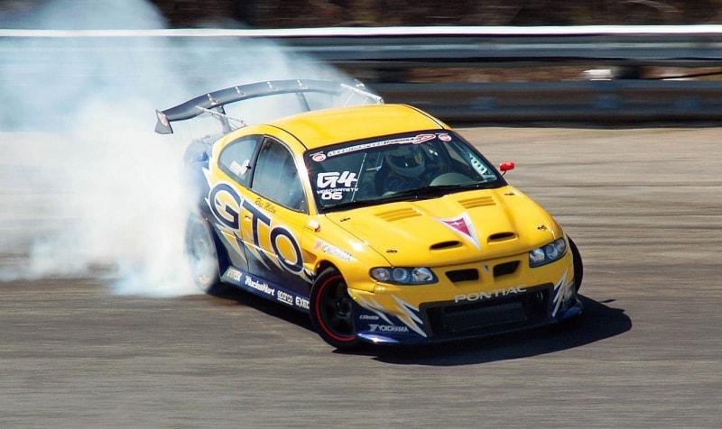 Pontiac GTO - drifting