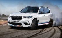BMW X5 M rendering