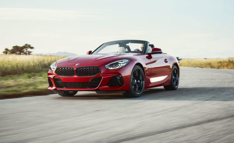 BMW Z4 front 3/4 view