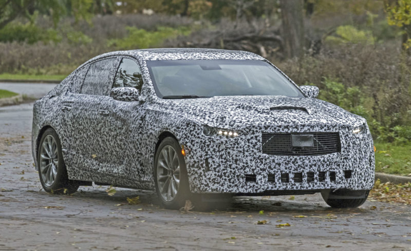 2020 Cadillac CT5 test mule