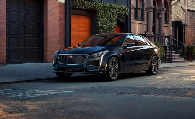 Cadillac CT6-V front 3/4 view