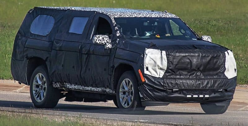 2020 Chevy Suburban test mule