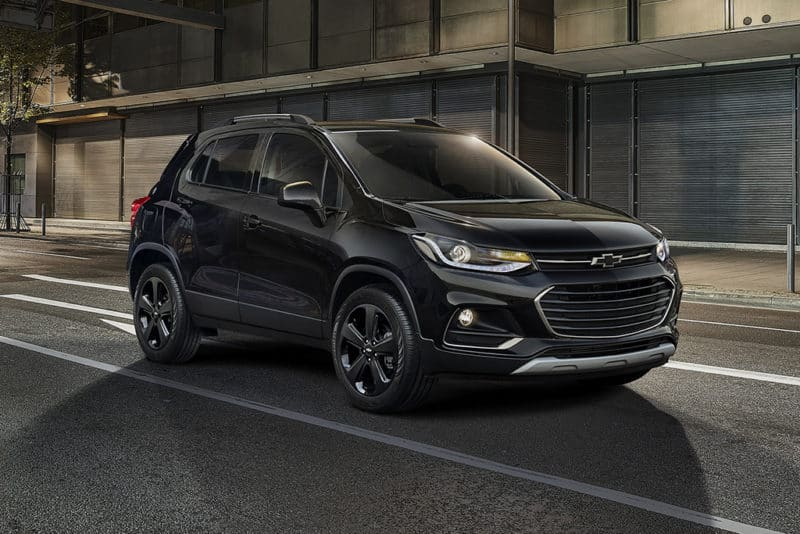 Chevrolet Trax front 3/4 view