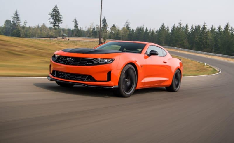 2019 Chevrolet Camaro front 3/4 view
