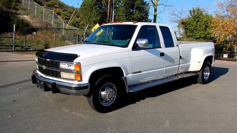 Chevrolet pickup - extended cab