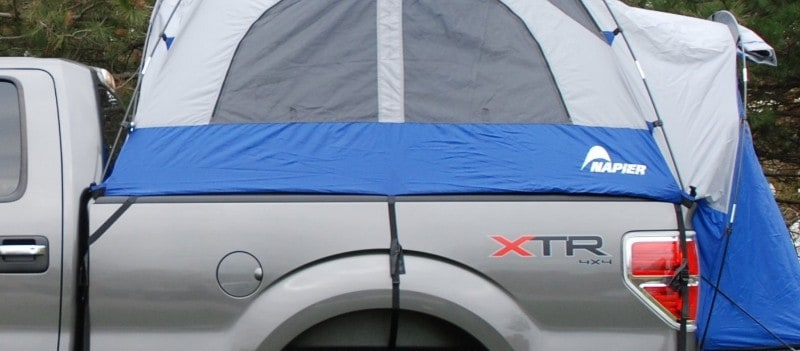 secure fitting truck tent