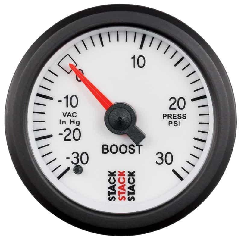 turbo boost gauge